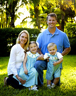 Family Portrait photographer in Miami